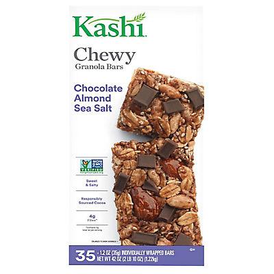 Kashi Chocolate Almond Sea Salt Chewy Granola Bars, 35 ct./1.2 oz.