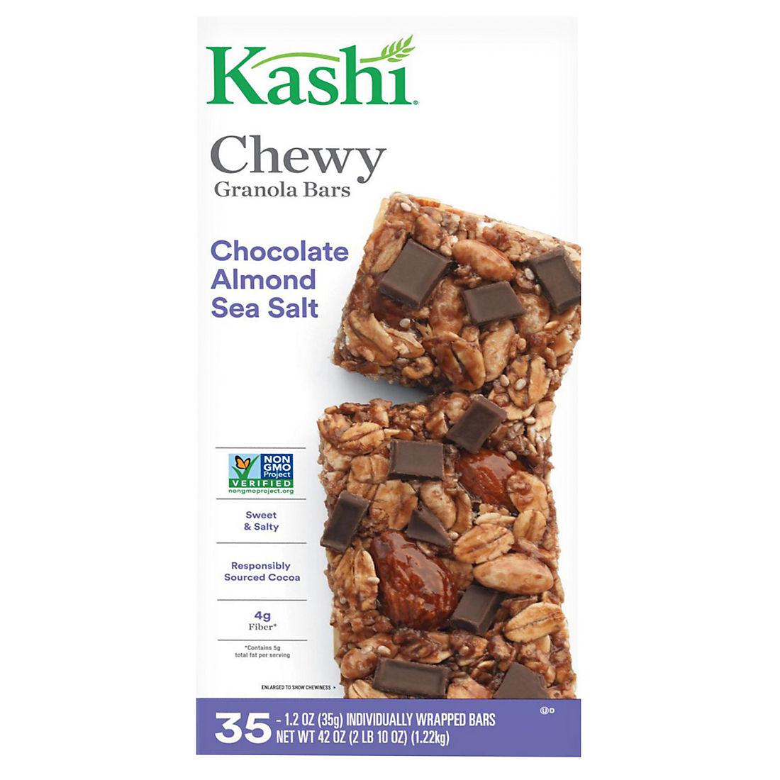 Kashi Chocolate Almond Sea Salt Chewy Granola Bars, 35 ct /1 2 oz