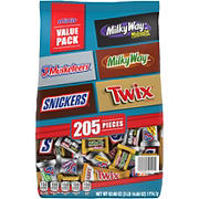 Mars Mixed Minis Stand-Up Bag, 205 ct.