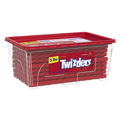 Twizzlers Strawberry Twists, 5 lbs.