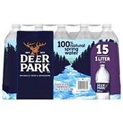 Deer Park 100% Natural Spring Water, 15 pk./1L