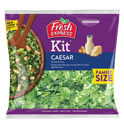 Fresh Express Caesar Salad Kit, 196 oz.