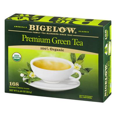 Bigelow Organic Green Tea, 168 ct.