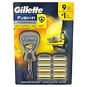 Gillette Fusion ProShield Men's FlexBall Razor with 9 Razor Blade Refills
