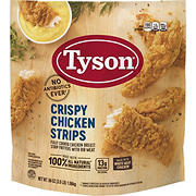 Tyson Frozen Crispy Chicken Strips, 3.5 lbs.