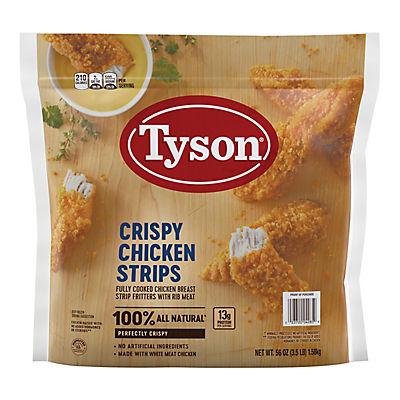 Tyson Frozen Crispy Chicken Strips, 3.5 lbs.