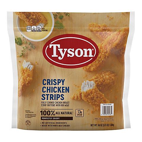 Tyson Frozen Crispy Chicken Strips Bjs Wholesale Club