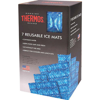 Thermos 7-Pc. Reusable Ice Mat Set