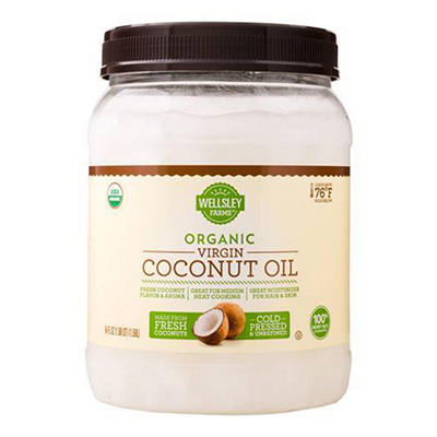 Wellsley Farms Organic Virgin Coconut Oil, 54 oz.