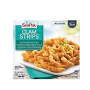 SeaPak Clam Strips, 2 lbs.