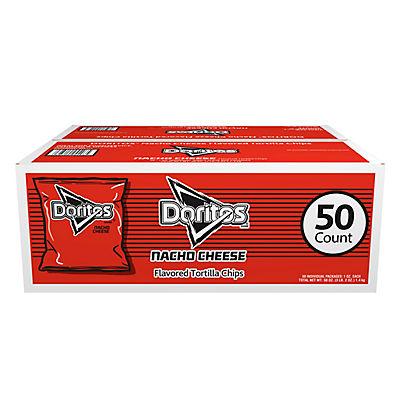 Doritos Nacho Cheese Chips, 50 pk./1 oz.