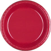 """Artstyle 10"""" Dinner Plates, 35 ct. - Red"""