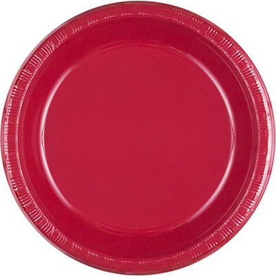 "Artstyle 10"" Dinner Plates, 35 ct. - Red"