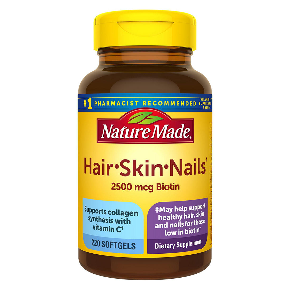 Nature Made Hair, Skin and Nails Supplement, 220 ct.