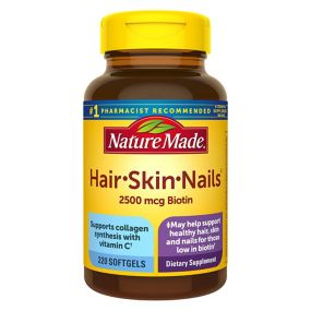 Nature Made Hair, Skin and Nails Supplement, 220 ct. - BJs WholeSale ...