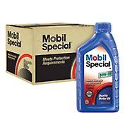 Mobil 10W-30 Special Motor Oil, 12 pk./1 qt.