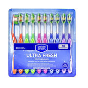 Berkley Jensen Ultra Fresh Toothbrushes, 10 pk.