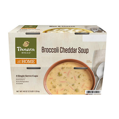 Panera Broccoli Cheddar Soup, 4 pk./10 oz.