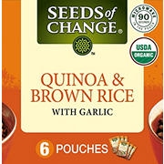 Seeds of Change Quinoa & Brown Rice with Garlic, 6 pk./8.
