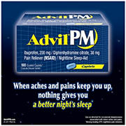 Advil PM Caplets - 180 ct.