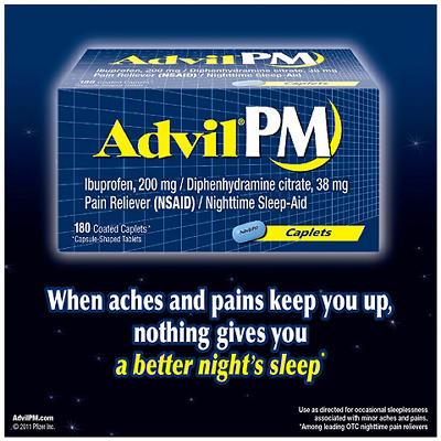 Advil PM Caplets - 180 ct.