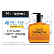 Neutrogena Liquid Facial Cleansing Formula, 4 pk./8 fl. oz.