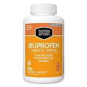 Berkley Jensen 200mg Ibuprofen Tablets, 750 ct.