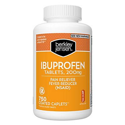 Berkley Jensen 200mg Ibuprofen Tablets, 750 ct.