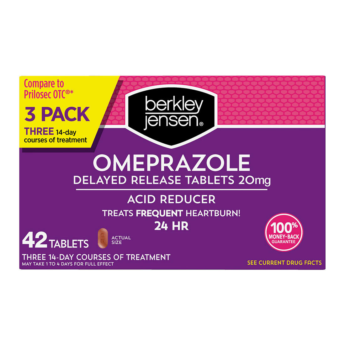 Outstanding Berkley Jensen 20Mg Omeprazole Acid Reducer Tablets 42 Ct Gmtry Best Dining Table And Chair Ideas Images Gmtryco
