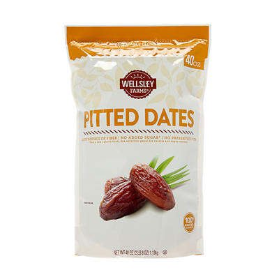 Wellsley Farms Dried Dates, 40 oz.