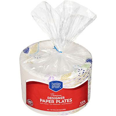 """Berkley Jensen 10"""" Paper Plates, 154 ct."""