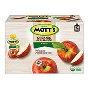 Mott's Organic Applesauce Pouches, 24 ct./3.2 oz.