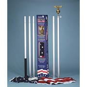 "Annin 72"" x 48"" American Flag and 20' Patriot Pole"