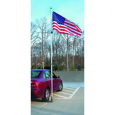 "Annin 19' Telescoping Flagpole and 60"" x 36"" American Flag"