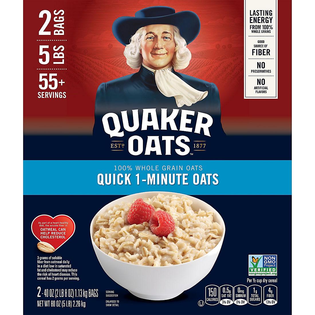 Quaker Oats 100% Natural Whole Grain