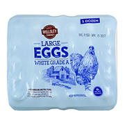 Wellsley Farms Large White Eggs, 5 pk./12 ct.