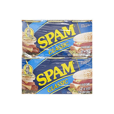 Hormel Spam Classic, 6 pk./12 oz.