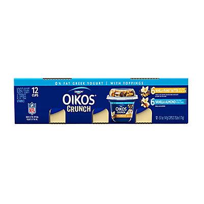 Oikos Crunch Greek Yogurt, 12 ct./5 oz.