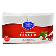 "Berkley Jensen 17"" Dinner Napkins, 200 ct. - White"