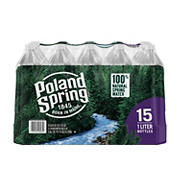 Poland Spring 100% Natural Spring Water, 15 pk./1L
