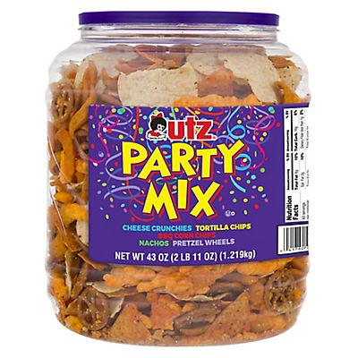 Utz Party Mix Barrel, 44 oz.