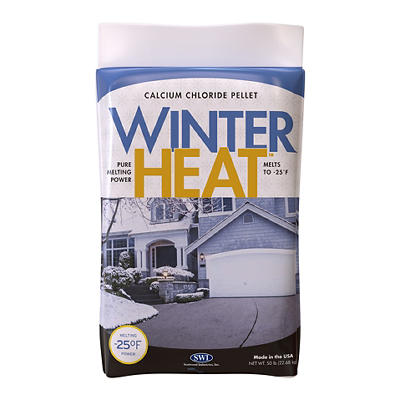Winter Heat Calcium Chloride Pellets, 50 lbs.