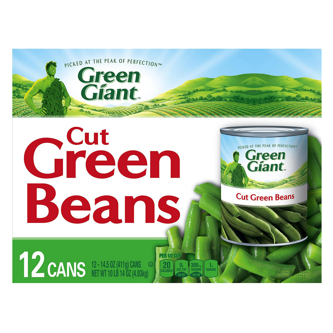 Green Giant Green Beans, 12 ct./14.5 oz