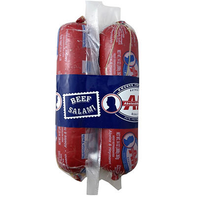 Abeles & Heymann Kosher All Beef Salami, 2 pk./14 oz.