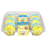 Kimberley's Bakeshoppe Blue & Yellow Iced Cookies, 18 ct.