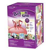 Balloon Time Jumbo Helium Kit - Festive Rouge
