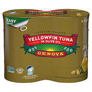 Genova Yellowfin Tuna in Olive Oil, 8 pk./5 oz.