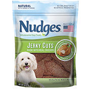Nudges Health & Wellness Chicken Jerky Dog Treats, 36 oz.