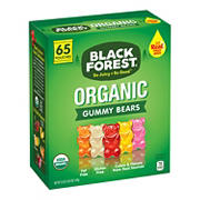 Black Forest Organic Gummy Bears, 65 pk.