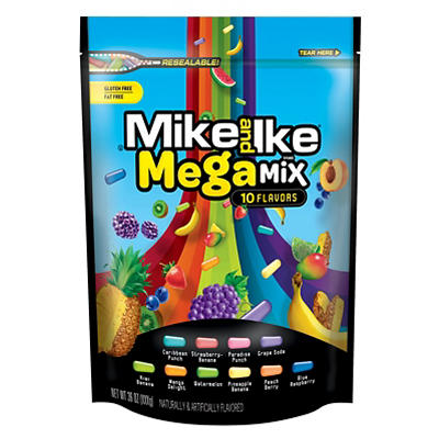 Mike and Ike Mega Mix, 54 oz.